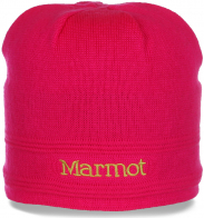Очаровательная неподражаемая качественная женская зимняя шапка Marmot утепленная флисом