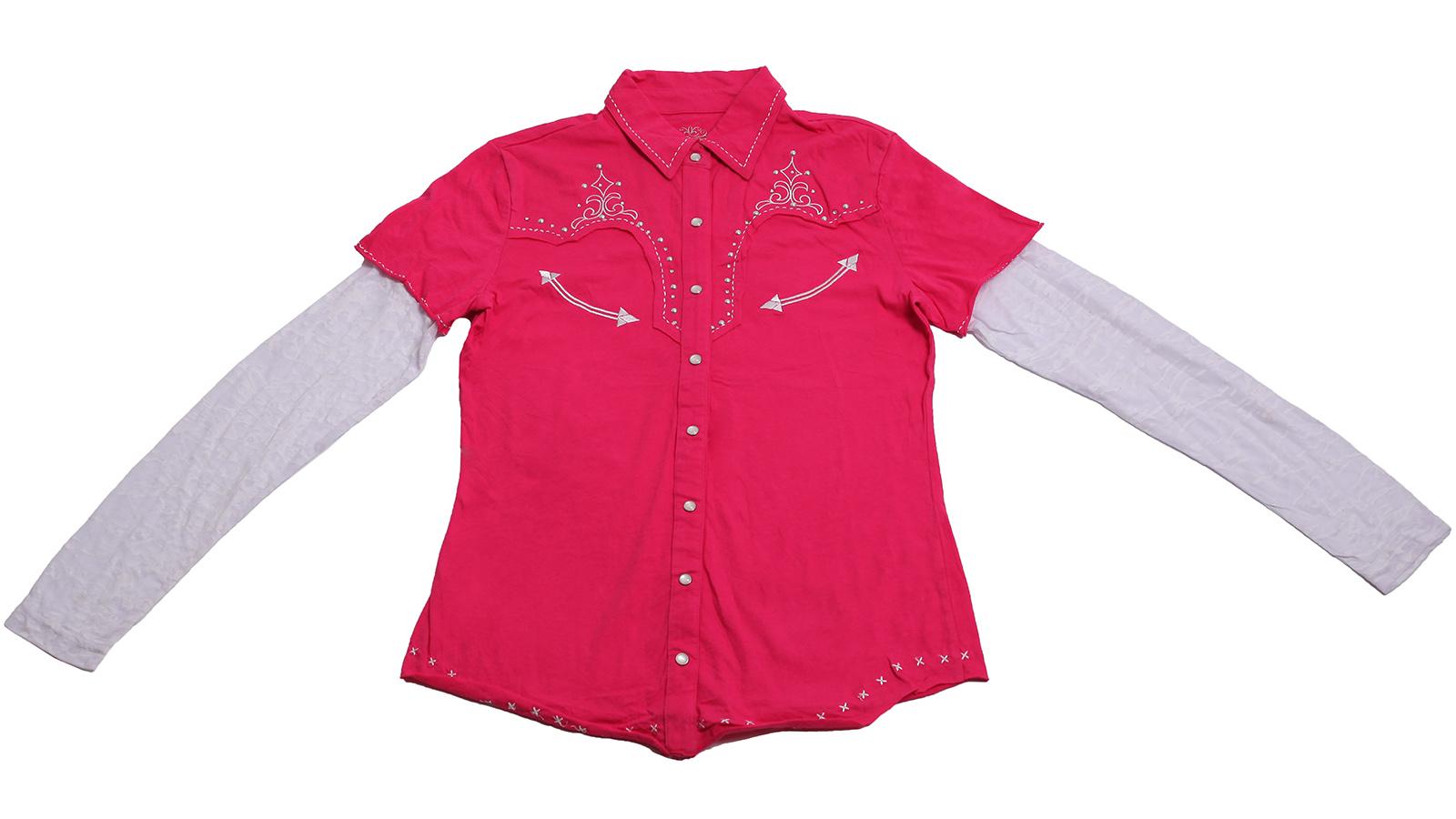 Очаровательная рубашка Panhandle Slim - дизайнерская модель, 100% хлопок