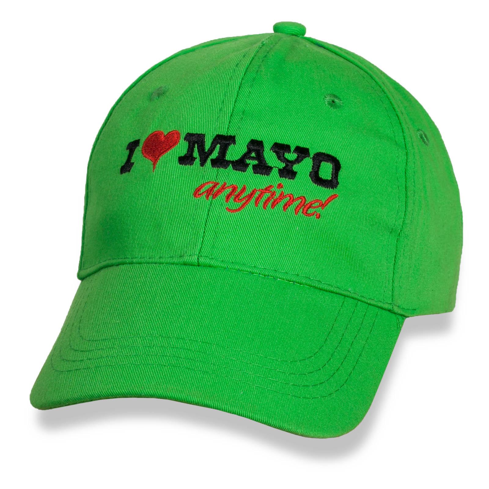 Очаровательная женская бейсболка I Love Mayo