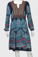 Очень красивое женское платье с широким поясом от NoName