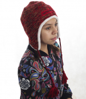 ОЧЕНЬ теплая и модная детская шапка Arctic Fox на флисе. 100% комфорт в любую погоду