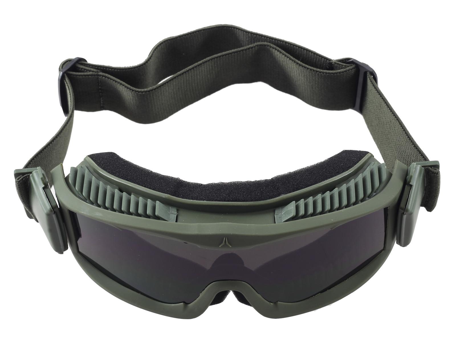 Очки для страйкбола с вентиляцией Lancer Tactical CA-223