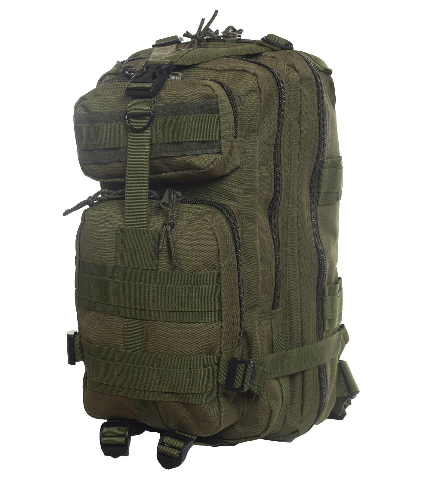 Однодневный армейский рюкзак (25 литров, олива)