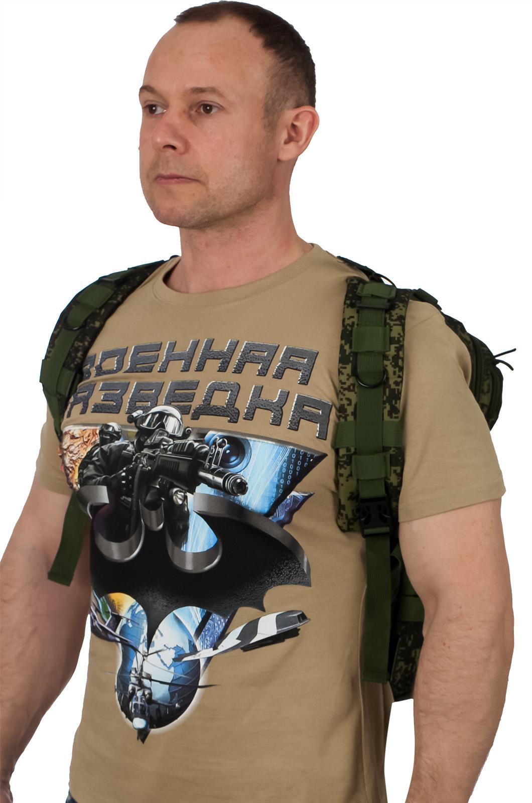 Однодневный тактический рюкзак разведки (25 литров, российская цифра)