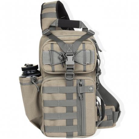 Однолямочный рюкзак Мaxpedition хаки - песочный