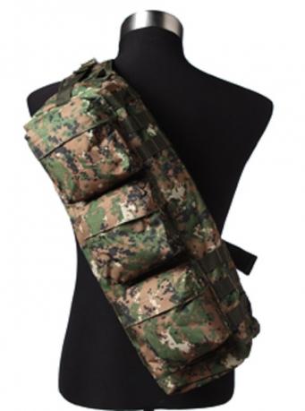 Однолямочный тактический рюкзак камуфляж Марпат