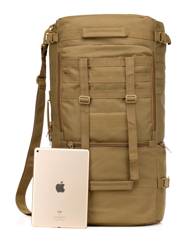 Однолямочный тактический рюкзак MOLLE для альпинистов с доставкой по России