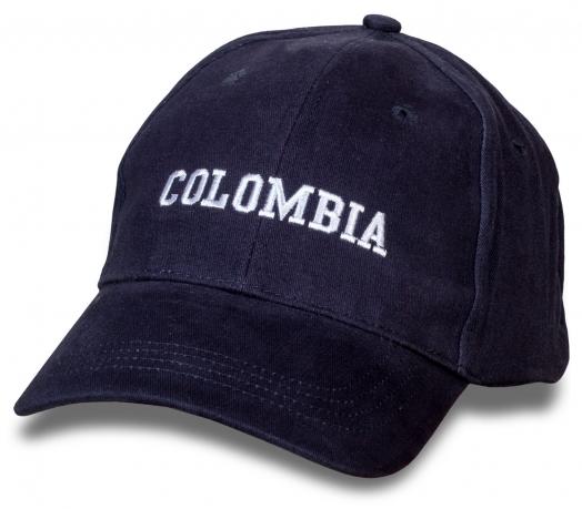 Однотонная бейсболка Colombia.