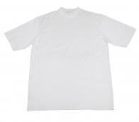 Однотонная белая футболка Clark&Gregory