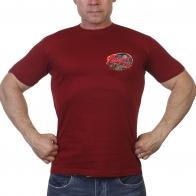 Однотонная мужская футболка 75 лет Победы