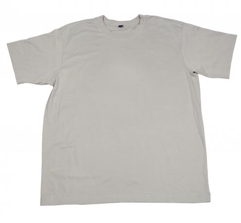 Однотонная футболка белого цвета. 100% натуральный материал