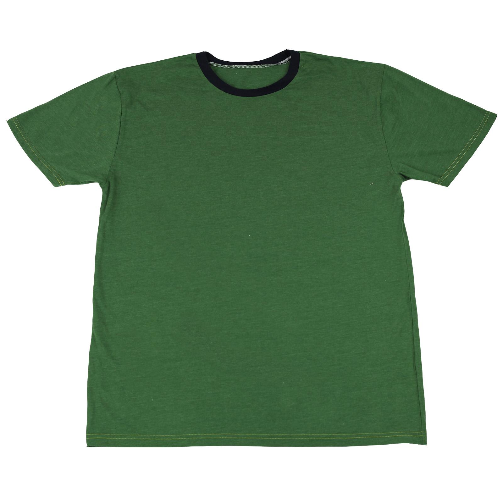 Однотонная футболка из 100% хлопка