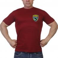 Однотонная футболка Военная Разведка