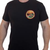 Мужская однотонная футболка 30 лет вывода войск СССР из Афганистана.