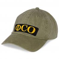 Однотонная кепка ФСО.