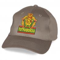 Однотонная кепка Погранвойска.