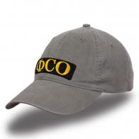 Однотонная кепка с вышивкой ФСО.