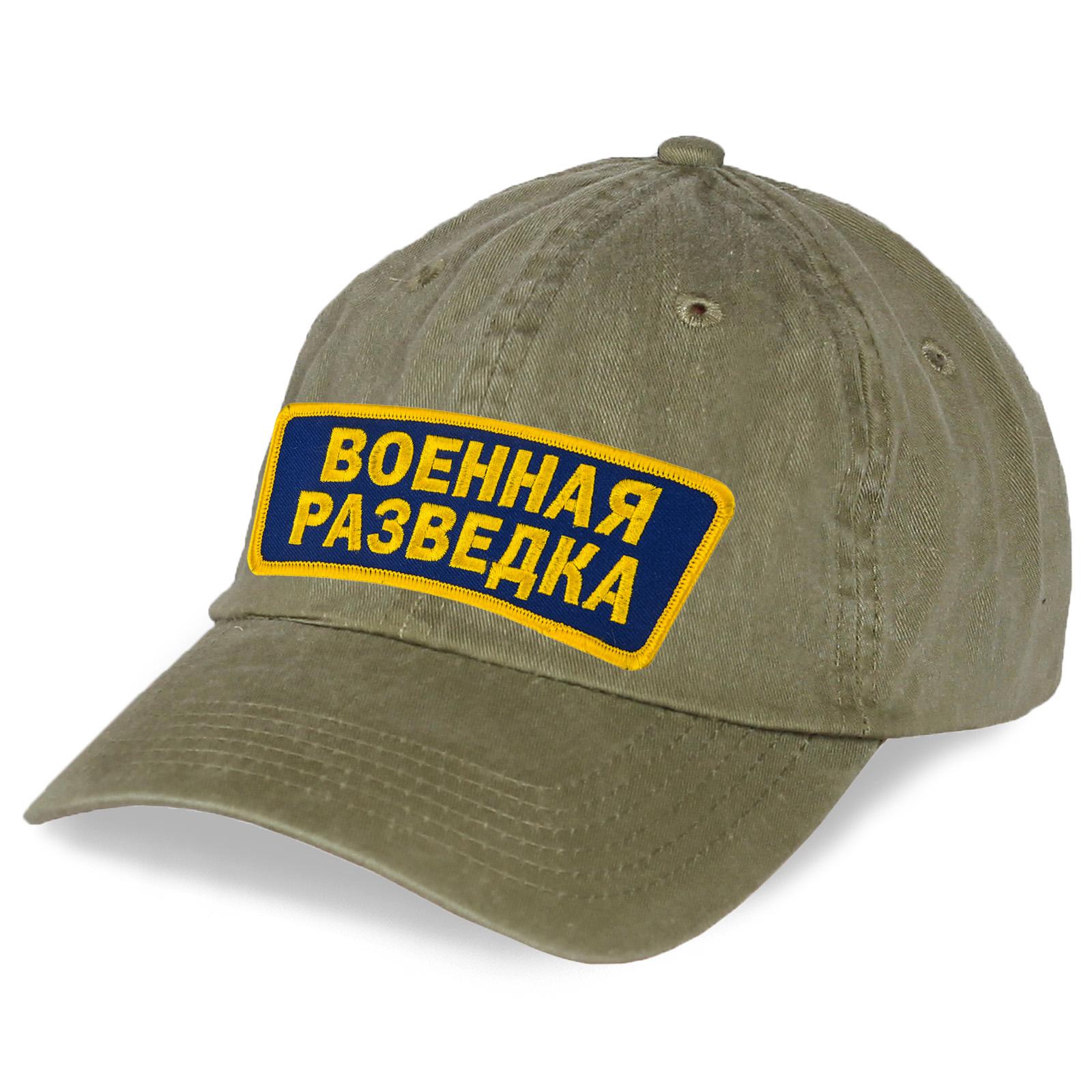 Однотонная кепка Военная разведка.