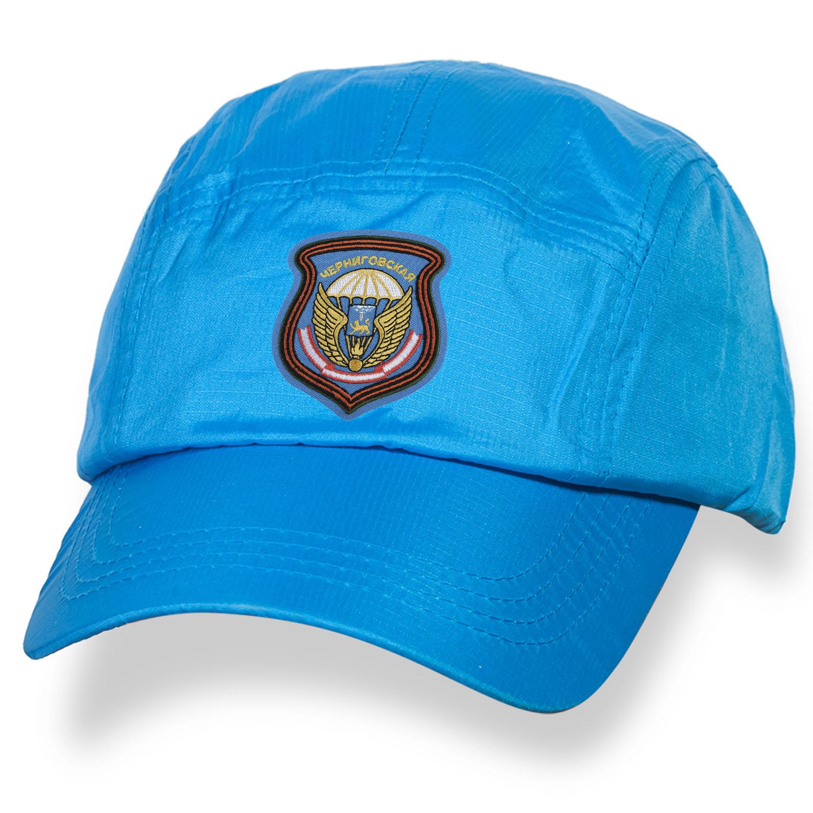 Однотонная мужская кепка с нашивкой 76 Черниговской дивизии ВДВ купить выгодно