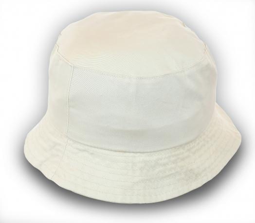 Однотонная панама белого цвета. Модель на все случаи жизни