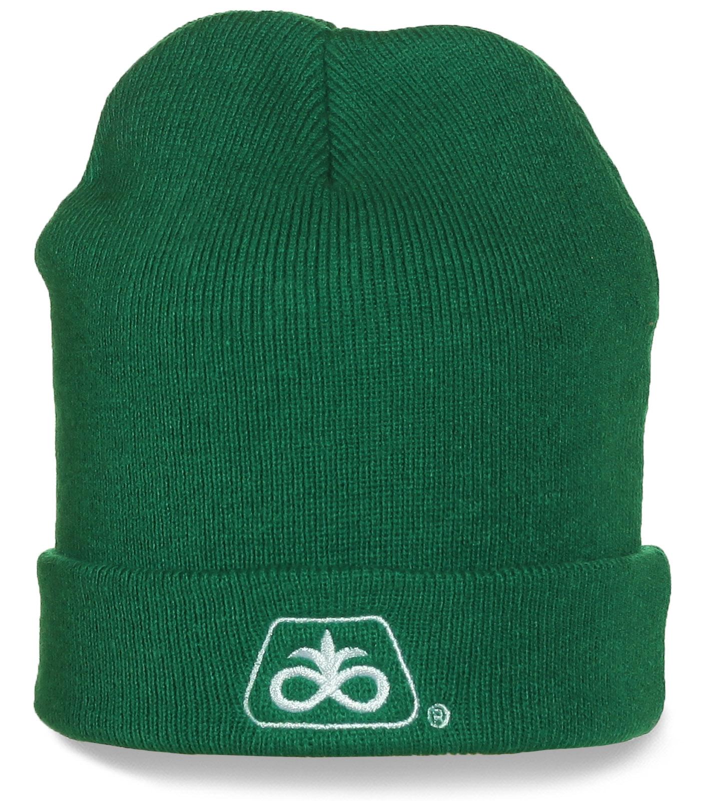 Однотонная шапка DuPont Pioneer - модная вещь, отличное качество