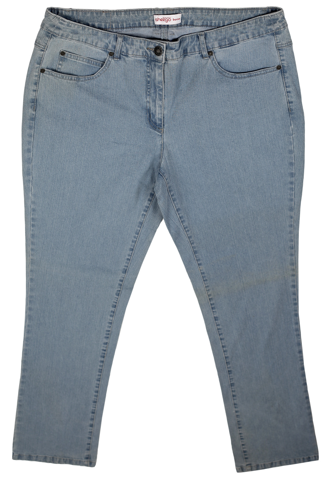 Однотонные джинсы Sheego Denim. Прямо из Германии!