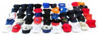 Однотонные и разноцветные кепки унисекс