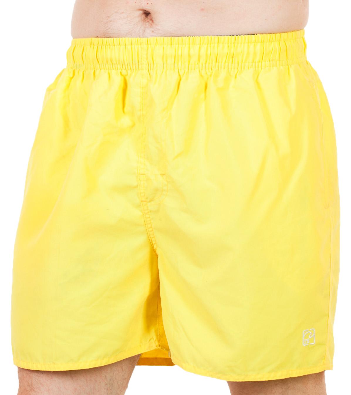 Шикарные ярко-жёлтые мужские шорты от Dead Legacy