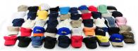 Одноцветные кепки для лета