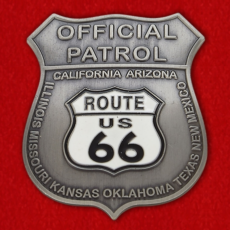 Official Patrol US 66  Token