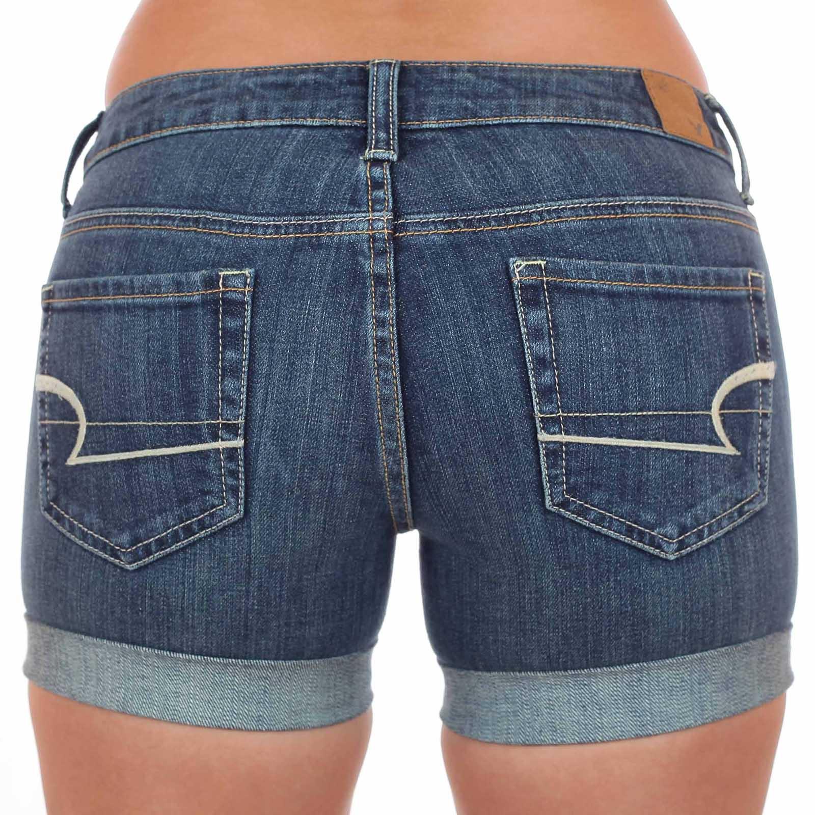 Ох, какие джинсовые шорты American Eagle! Такие шортики купила – эффектно попу нарядила! Модели от ХХS до ХХL!