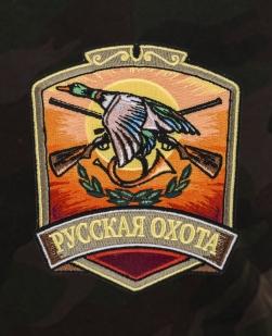 Охотничьи удлиненные шорты с нашивкой Русская Охота