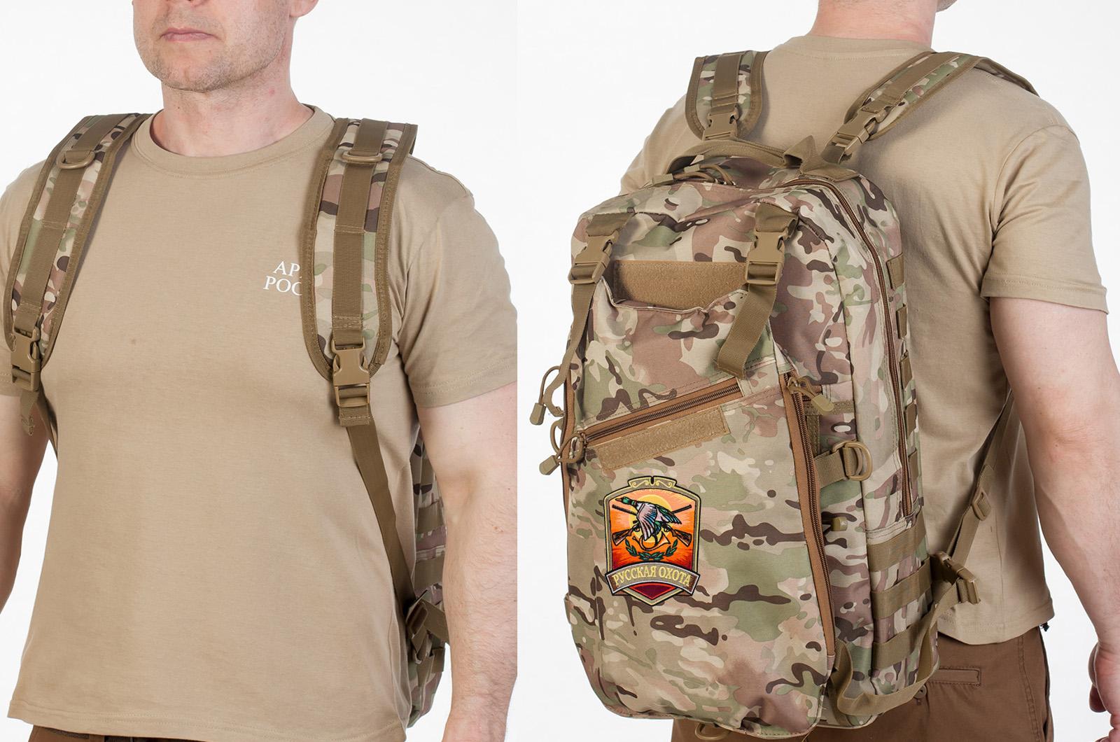 Охотничий камуфляжный рюкзак Русская Охота - заказать оптом
