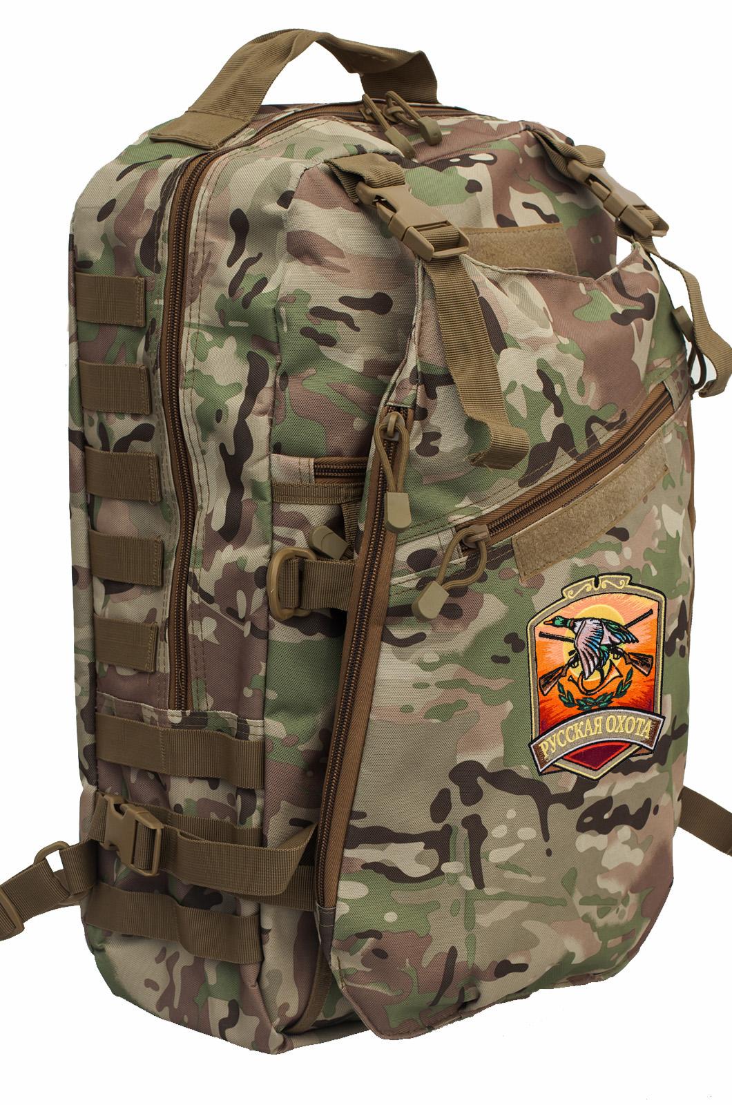 Охотничий камуфляжный рюкзак Русская Охота - заказать в розницу