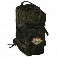 Охотничий практичный рюкзак с нашивкой НИ ПУХА, НИ ПЕРА! - купить выгодно