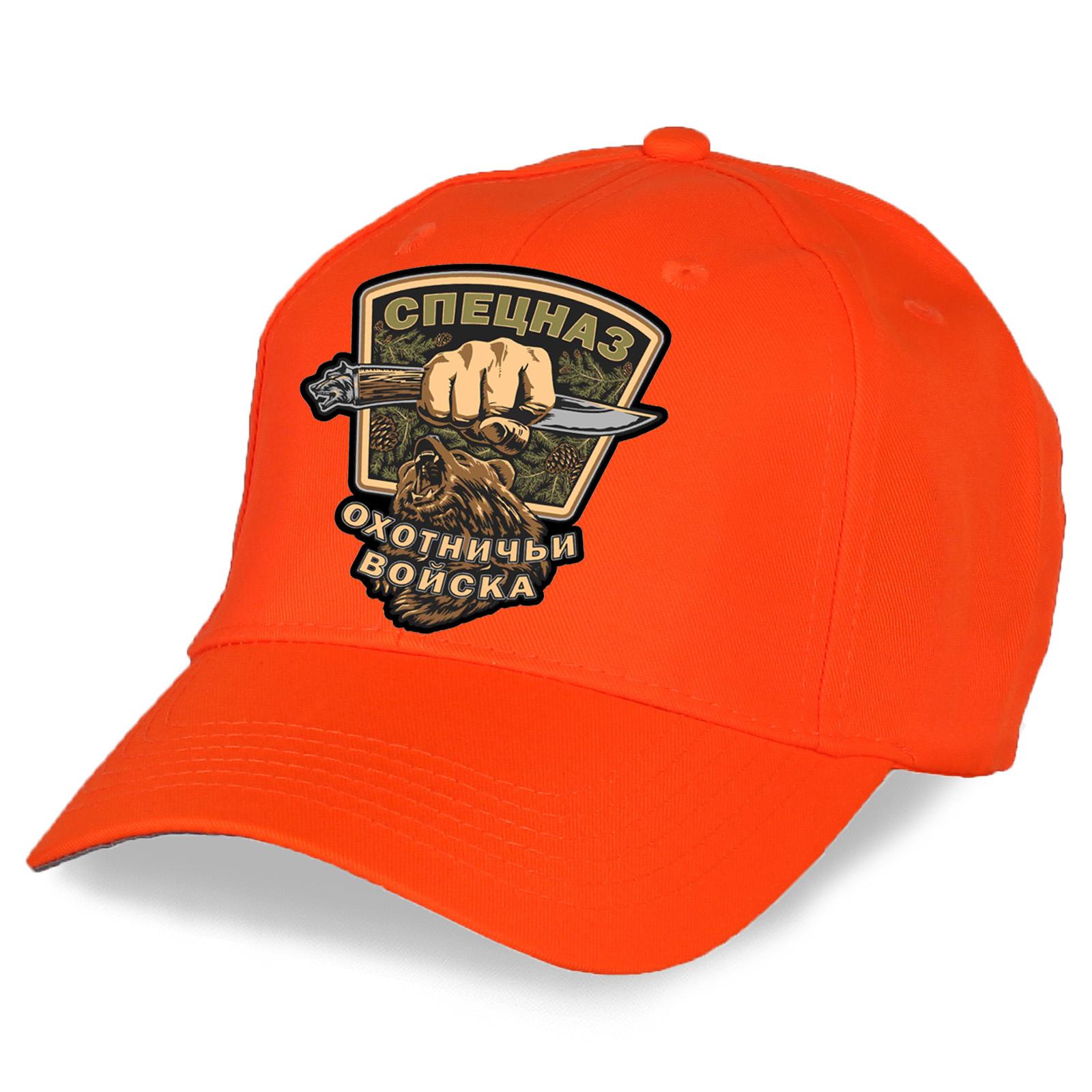 """Охотничья кепка с эмблемой """"Охотничьи войска"""" - купить онлайн"""