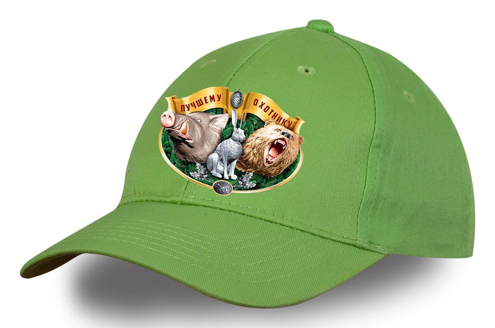 Охотничья кепка светло-зеленая - купить с доставкой в интернет-магазине