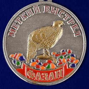 """Охотничья медаль """"Фазан"""" - аверс"""