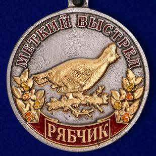 """Охотничья медаль """"Рябчик"""" - аверс"""