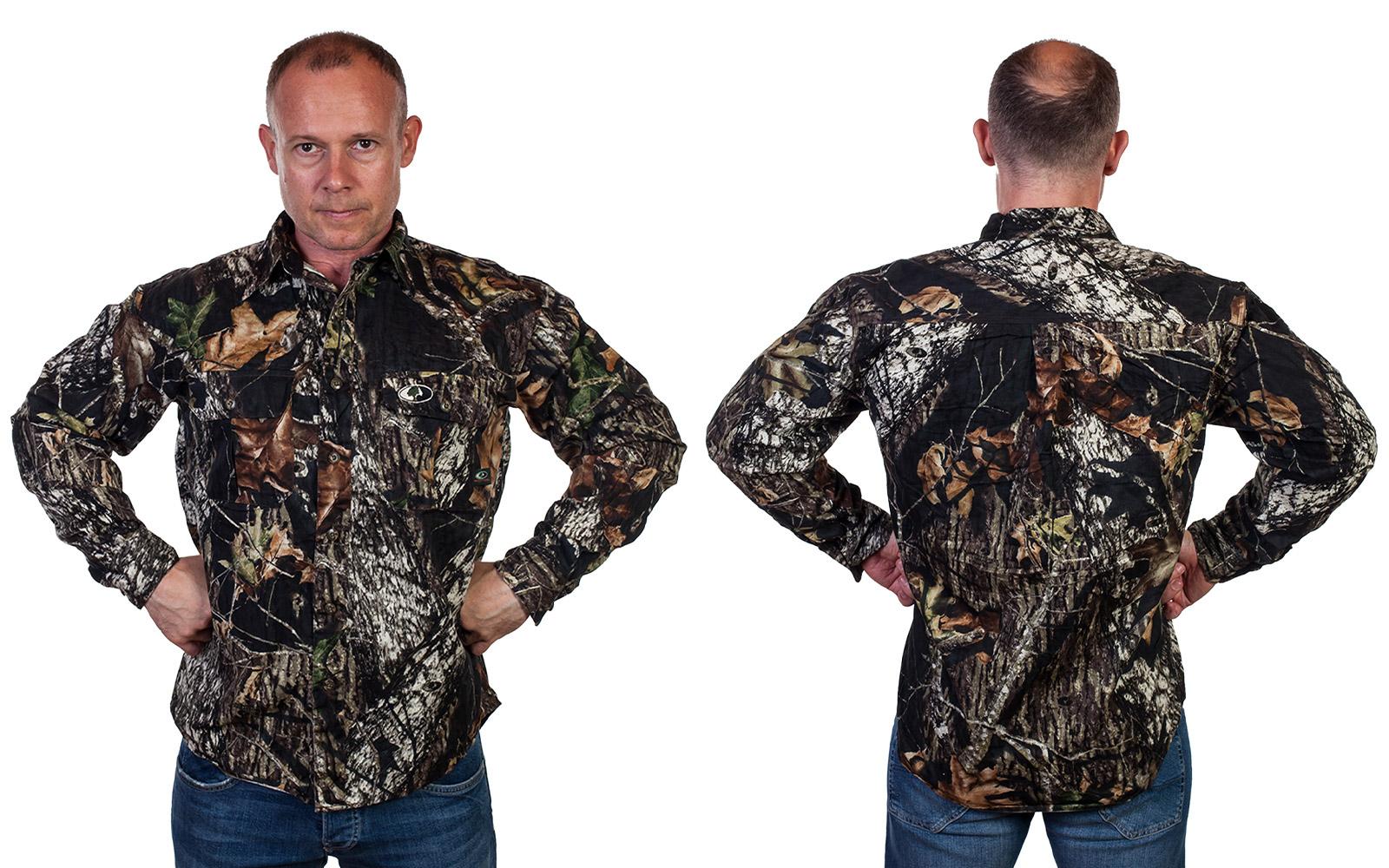 """""""Охотничья"""" рубашка от Mossy Oak (США)"""