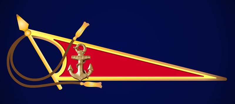 Околыш на берет Морской пехоты (с копьем)