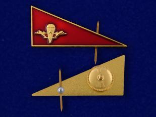 Околыш на берет ВДВ СССР-аверс и реверс