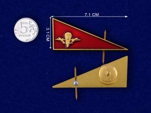 Околыш на берет ВДВ СССР-сравнительный размер