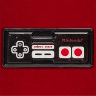 """Олдскульный значок """"Джойстик Nintendo NES"""""""