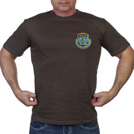 Оливковая футболка с принтом Военной Разведки