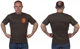 Мужская оливковая футболка с принтом Спецназа Росгвардии