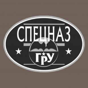 Оливковая футболка с термотрансфером Спецназ ГРУ