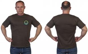 Оливковая футболка с символикой Спецназа ГРУ