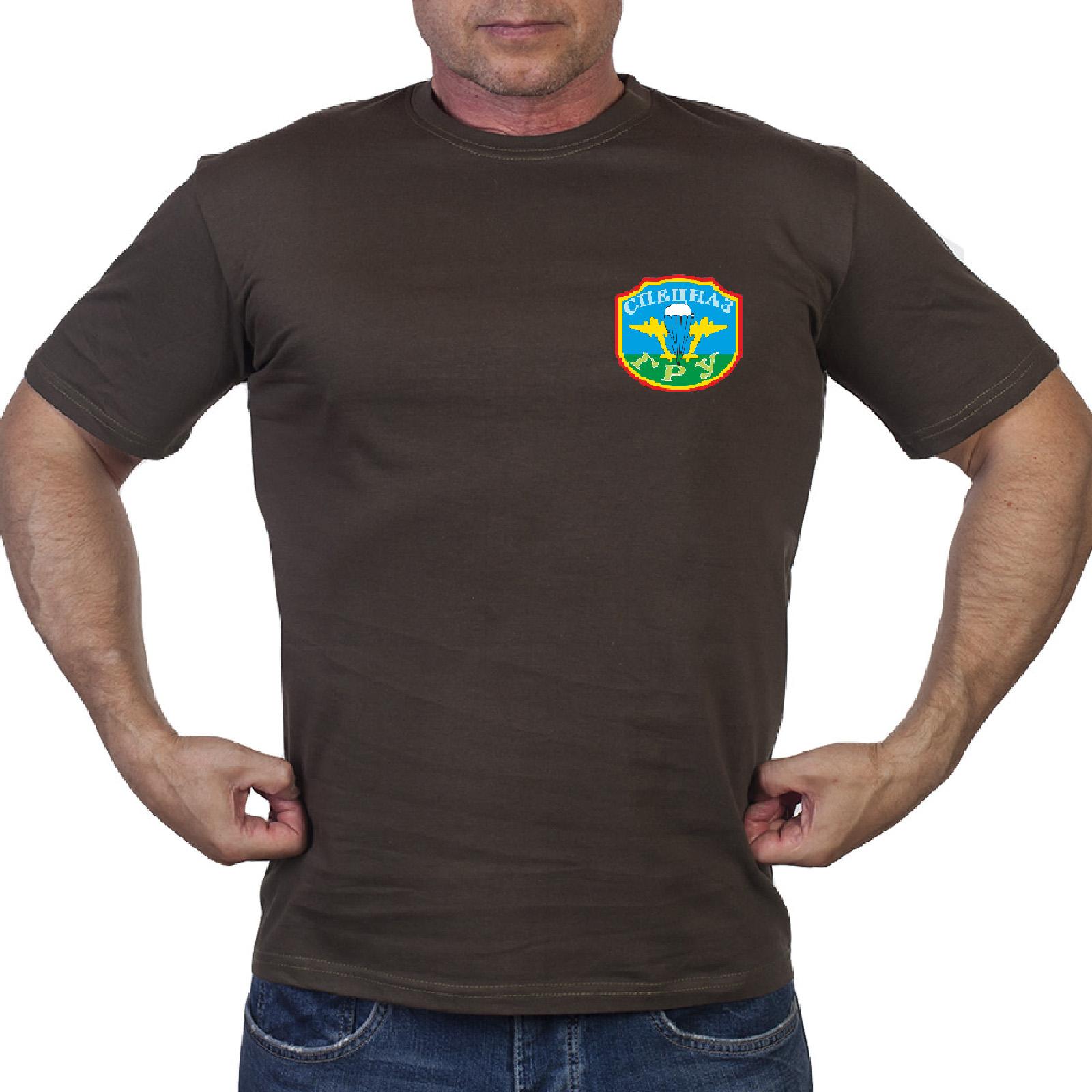 Оливковая футболка Спецназа ГРУ