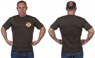 Оливковая футболка ВМФ